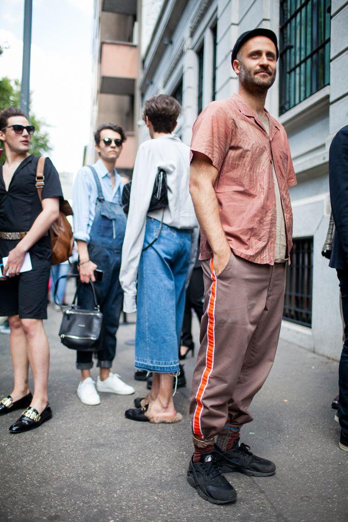 海外 ストリート ファッション メンズ 夏