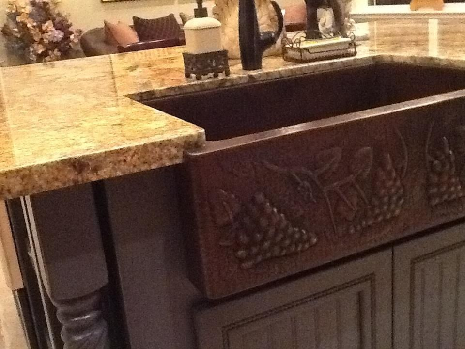 Country kitchen sinks Home decor Pinterest