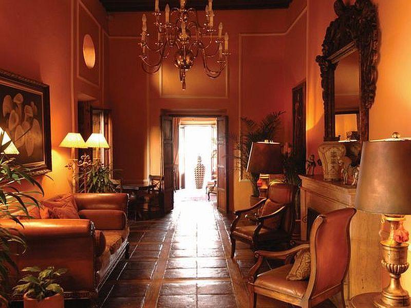 Hacienda Interior Decorating Pinterest