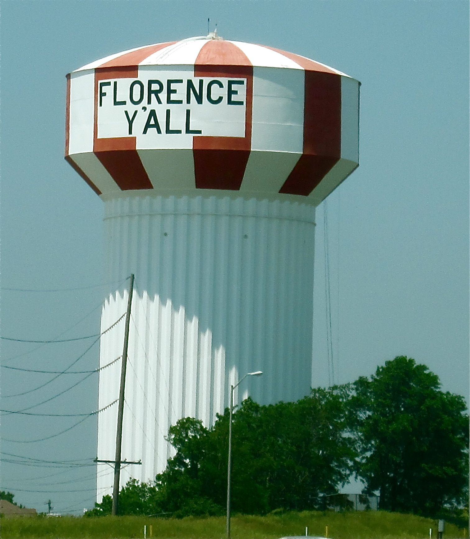 Places To Visit In Northern Ky: Florence Y'All Watertower (Florence, KY)