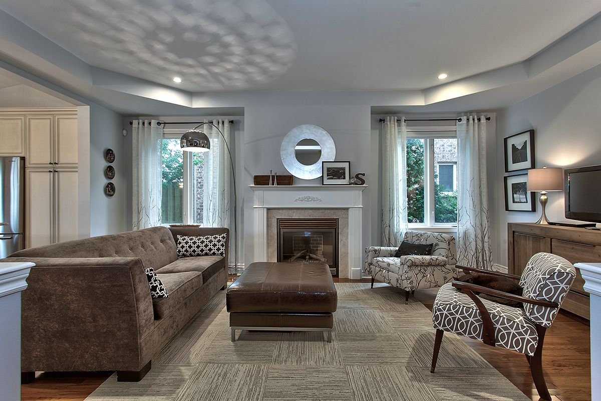 Best Living Room Benjamin Moore Bunny Gray Paint Pinterest 400 x 300