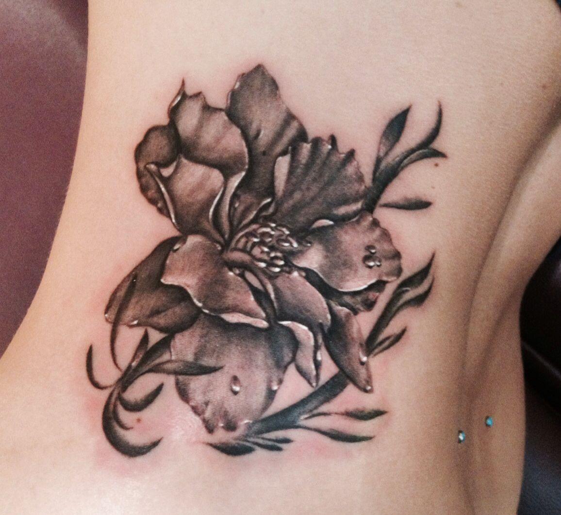 larkspur flower tattoo rebellious pinterest. Black Bedroom Furniture Sets. Home Design Ideas
