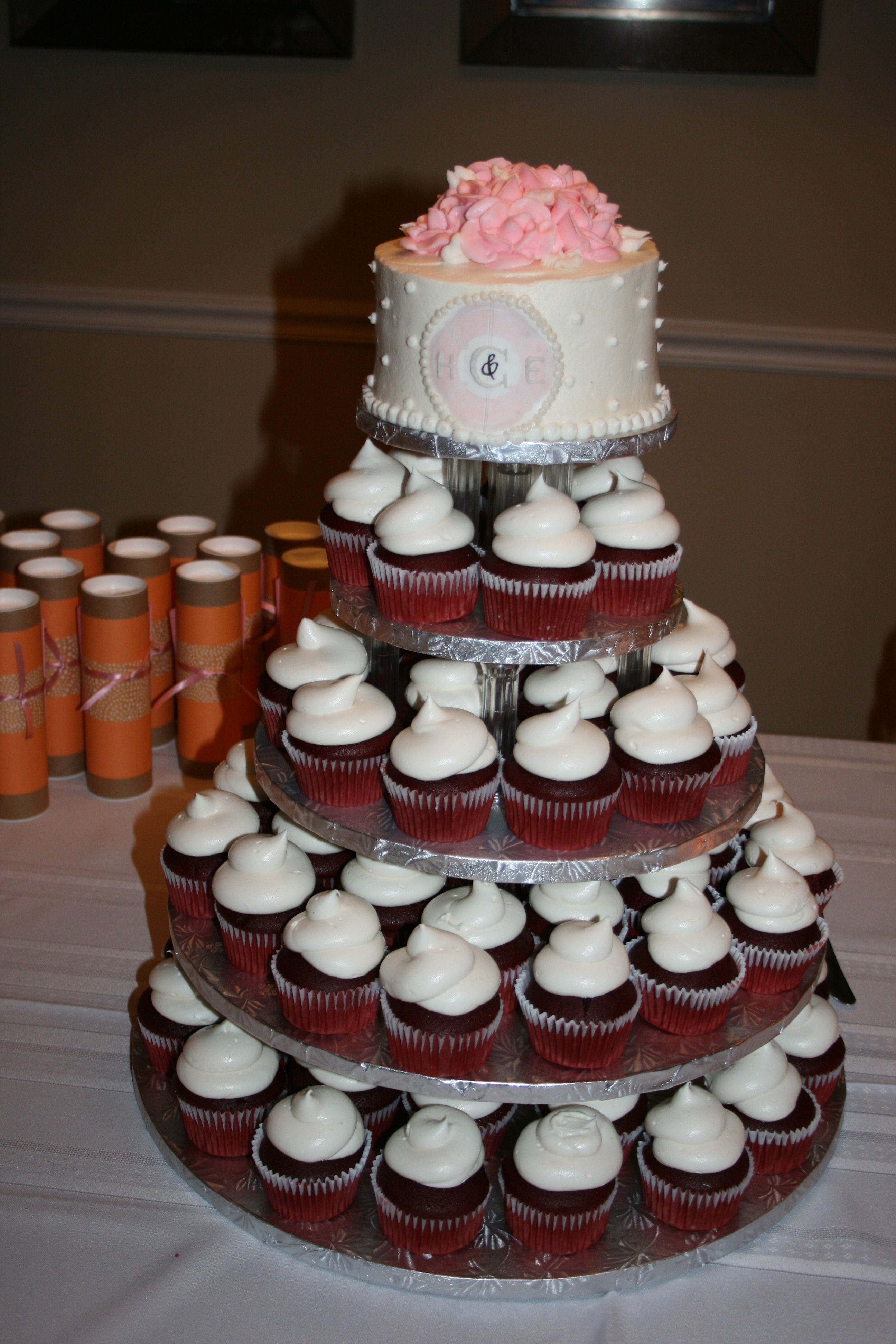 Red Velvet wedding cupcakes my fave
