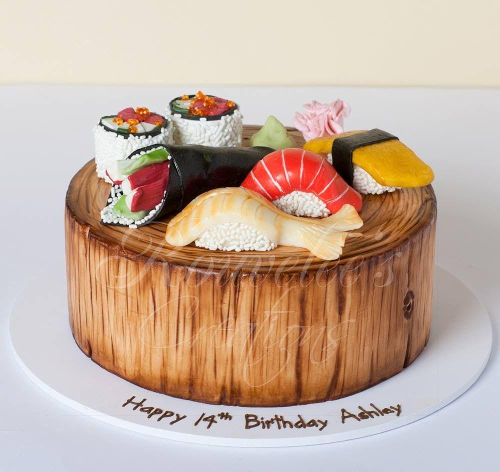 Sushi cake | Pretty Cakes | Pinterest