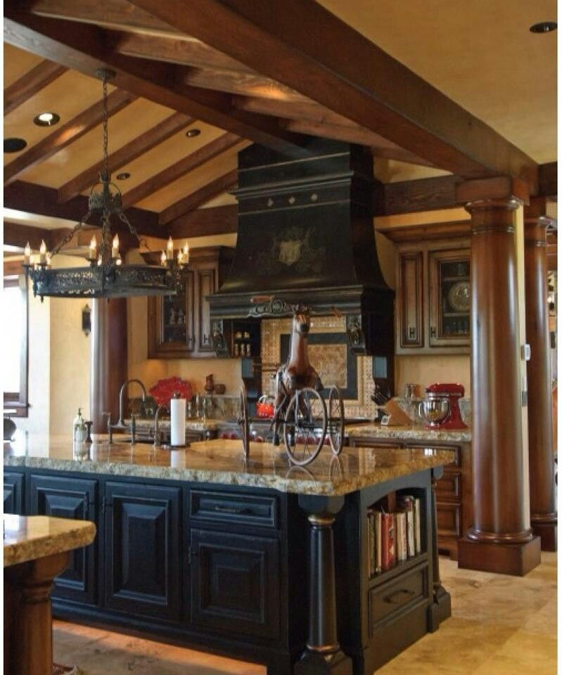 Big country kitchen home decor more pinterest for Kitchen designs and more