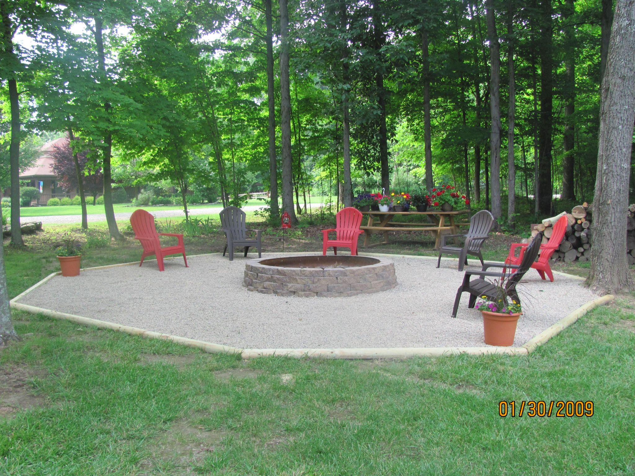 Backyard Fire Pit Area : Pit Area Ideas Fire Pits Outdoor Secondsunco
