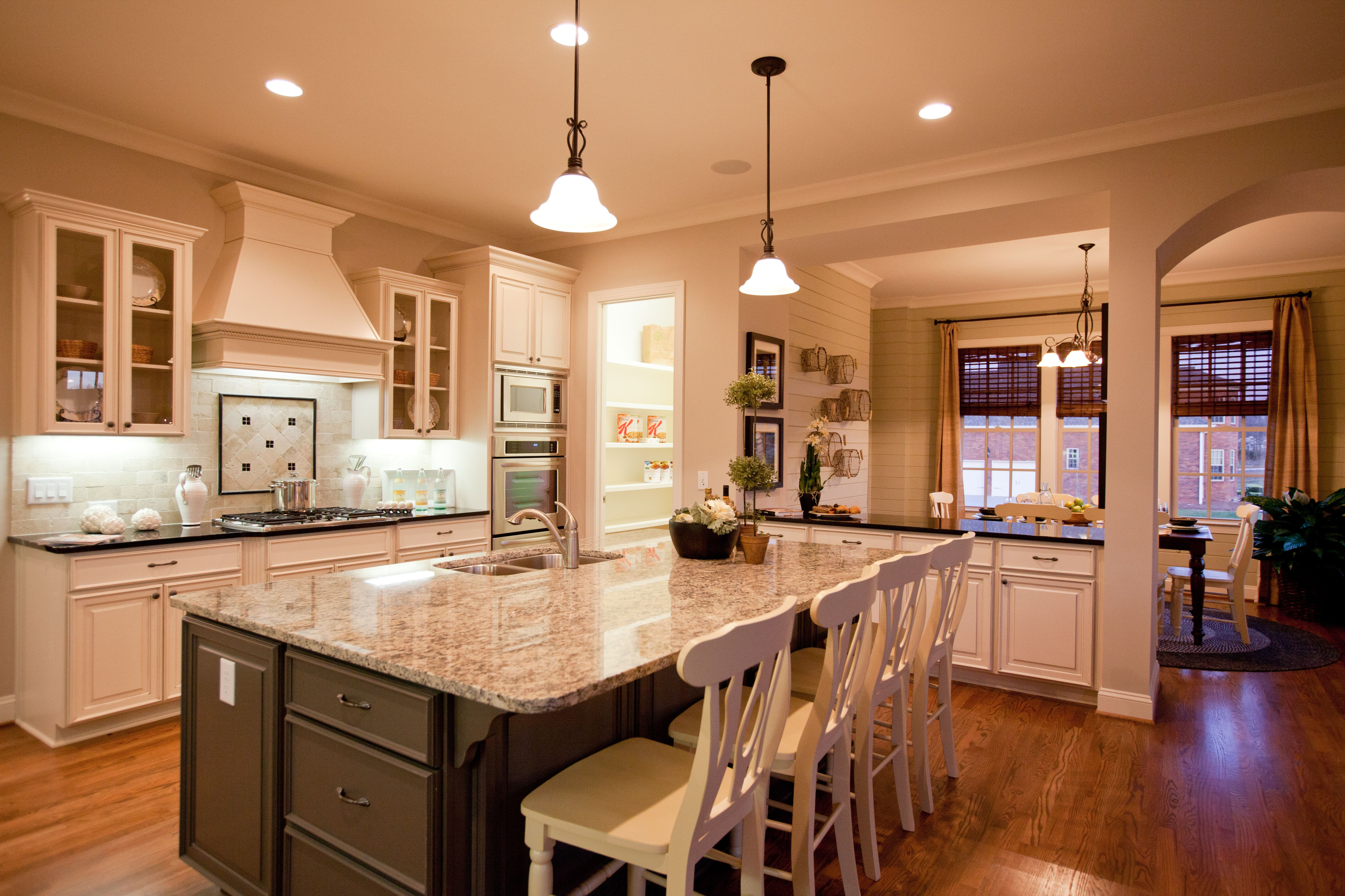 Model home kitchens pictures