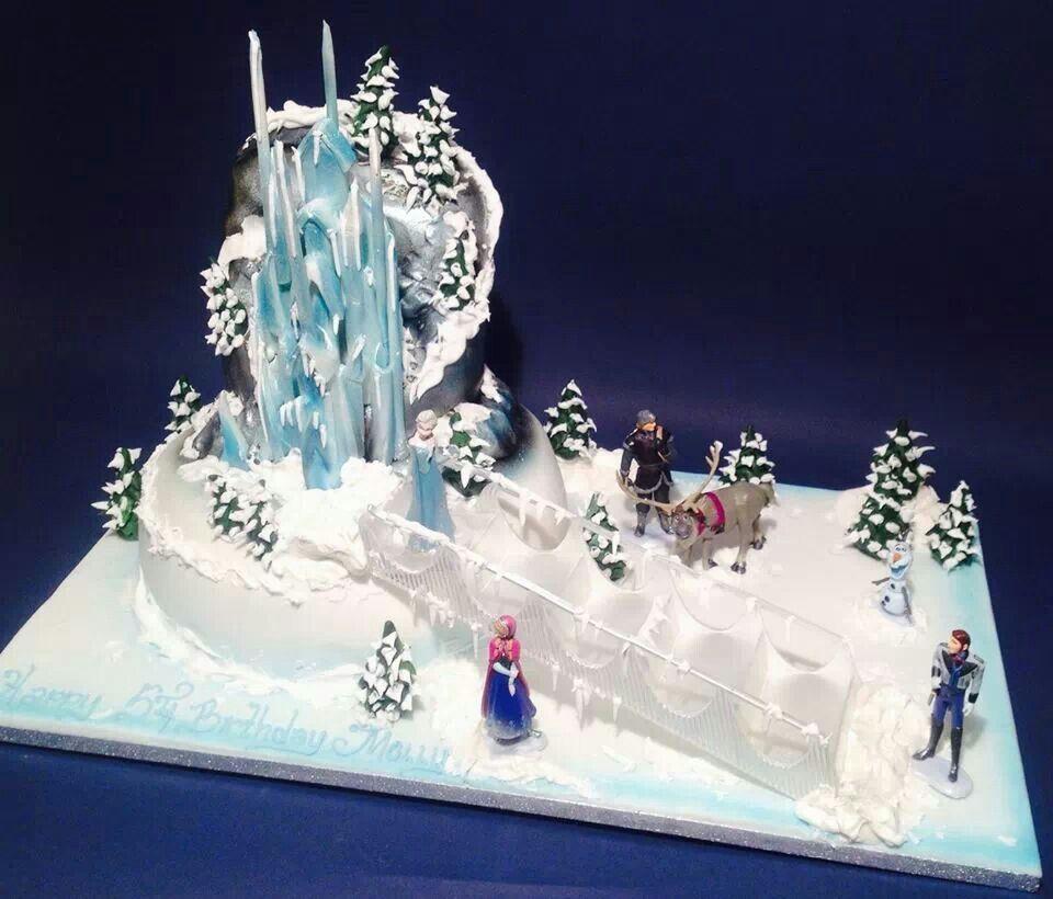 Frozen Cake Design Pinterest : Frozen Birthday Cake Frozen Pinterest