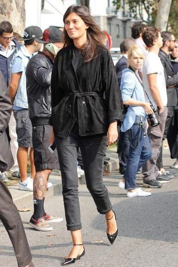 25 Times Emmanuelle Alt Killed it in a Pair ofJeans