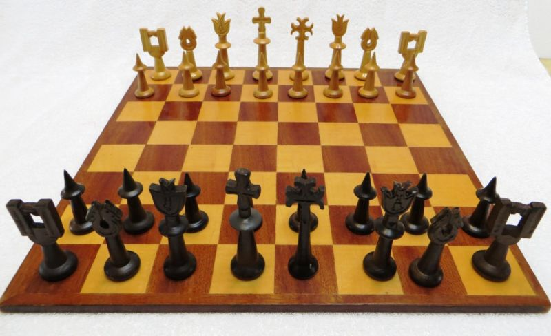 Cool Vtg Chess Mid Century And Cool Chess Sets Pinterest
