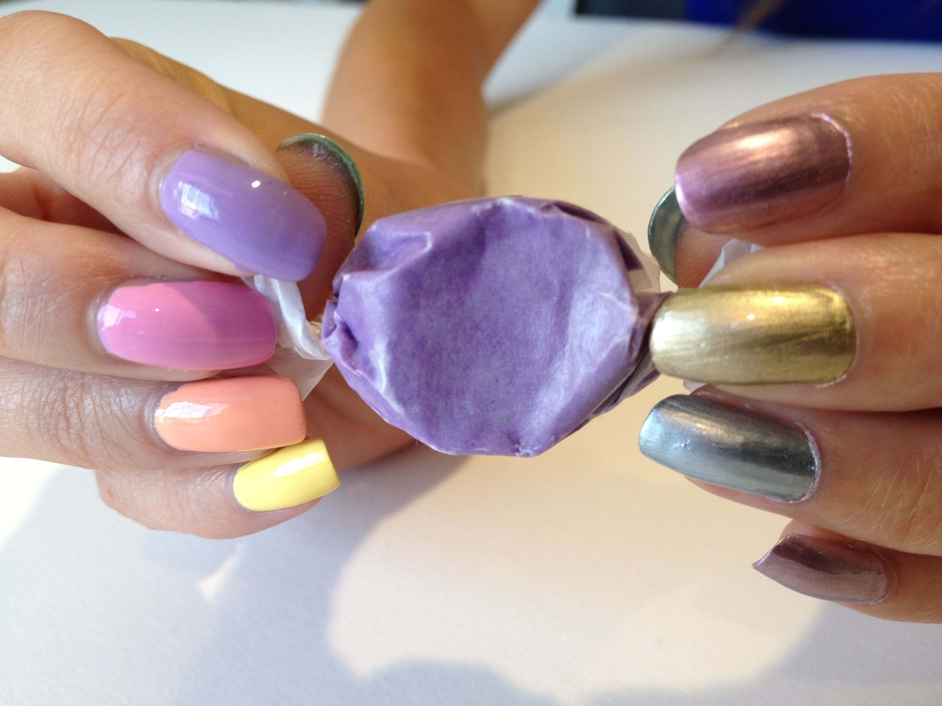 Taffy pull | Nail Trends | Pinterest