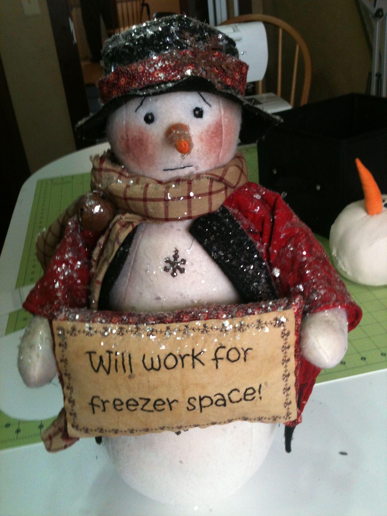 Primitive snowman | Christmas Crafts | Pinterest