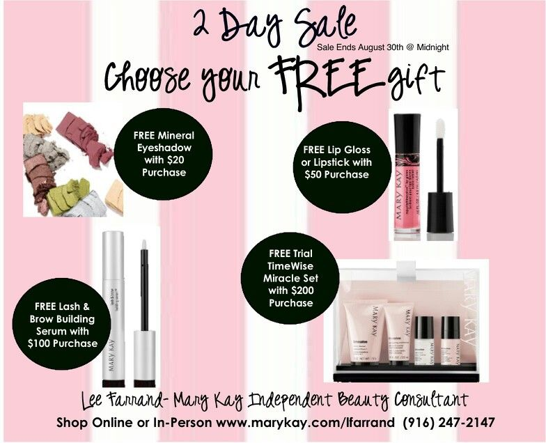 4th Of July Mary Kay Sale