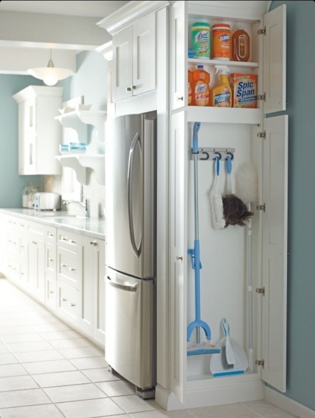 Maybe someday, when we re-do our kitchen, we could add something like that.  But until then, I needed to