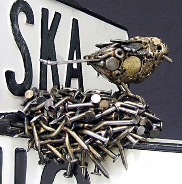 """Более 25 лучших идей на тему """"Metal art sculpture"""" на Pinterest Художественные скульптуры, Художественная ковка и Художественная"""