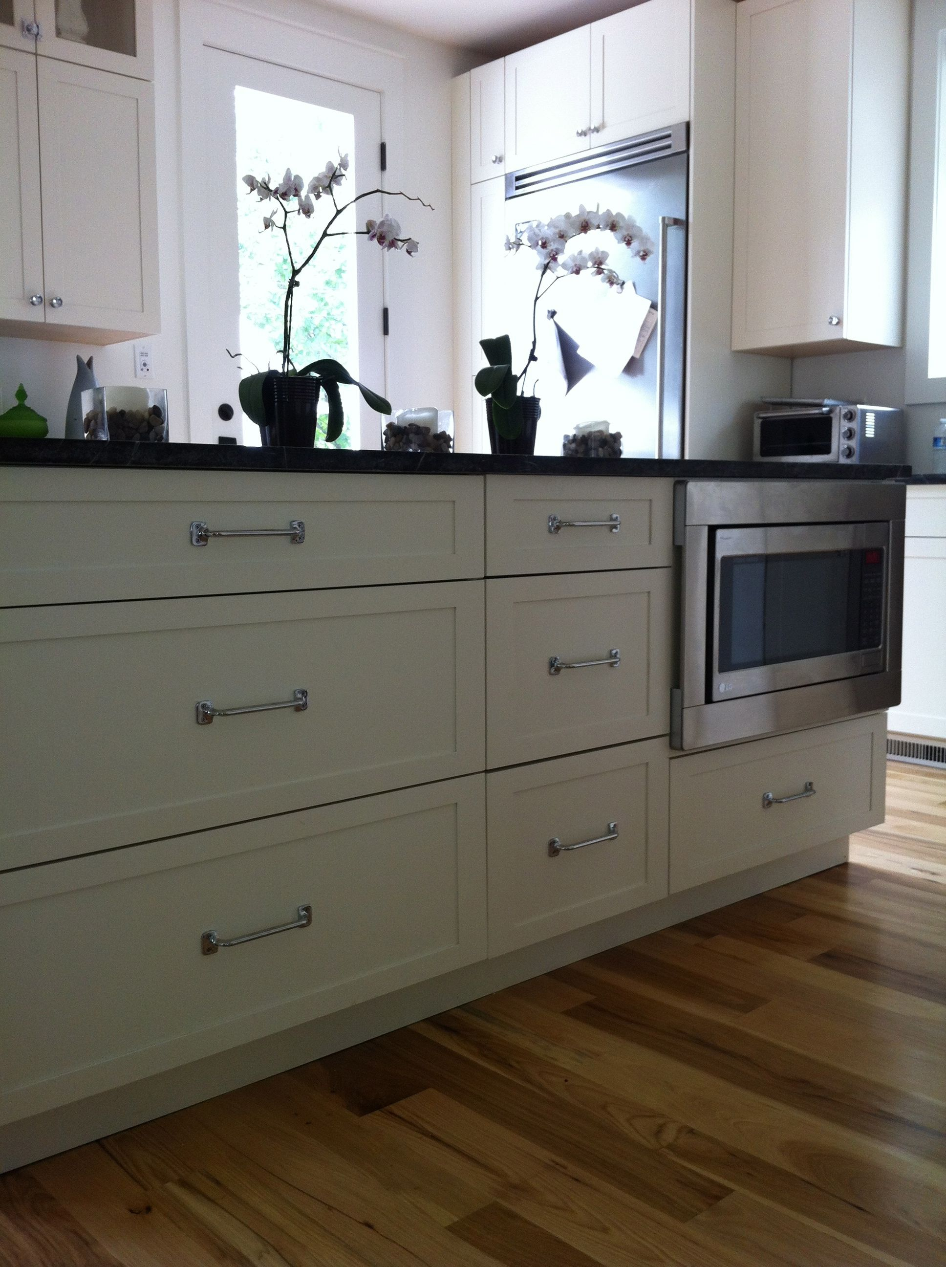 kitchen island with microwave for the home pinterest