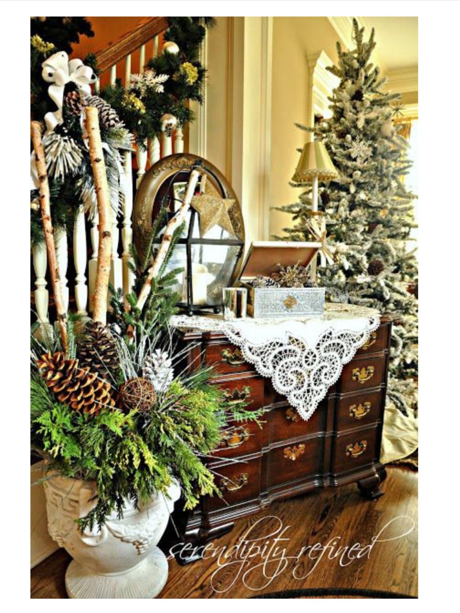 woodland christmas christmas decorating ideas pinterest - Woodland Christmas
