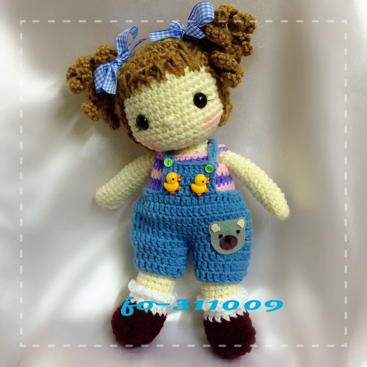 Crochet Amigurumi dolls Pinterest