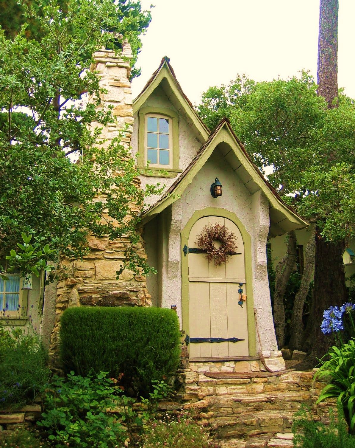A charming little storybook house cottages pinterest for Storybook cottage plans