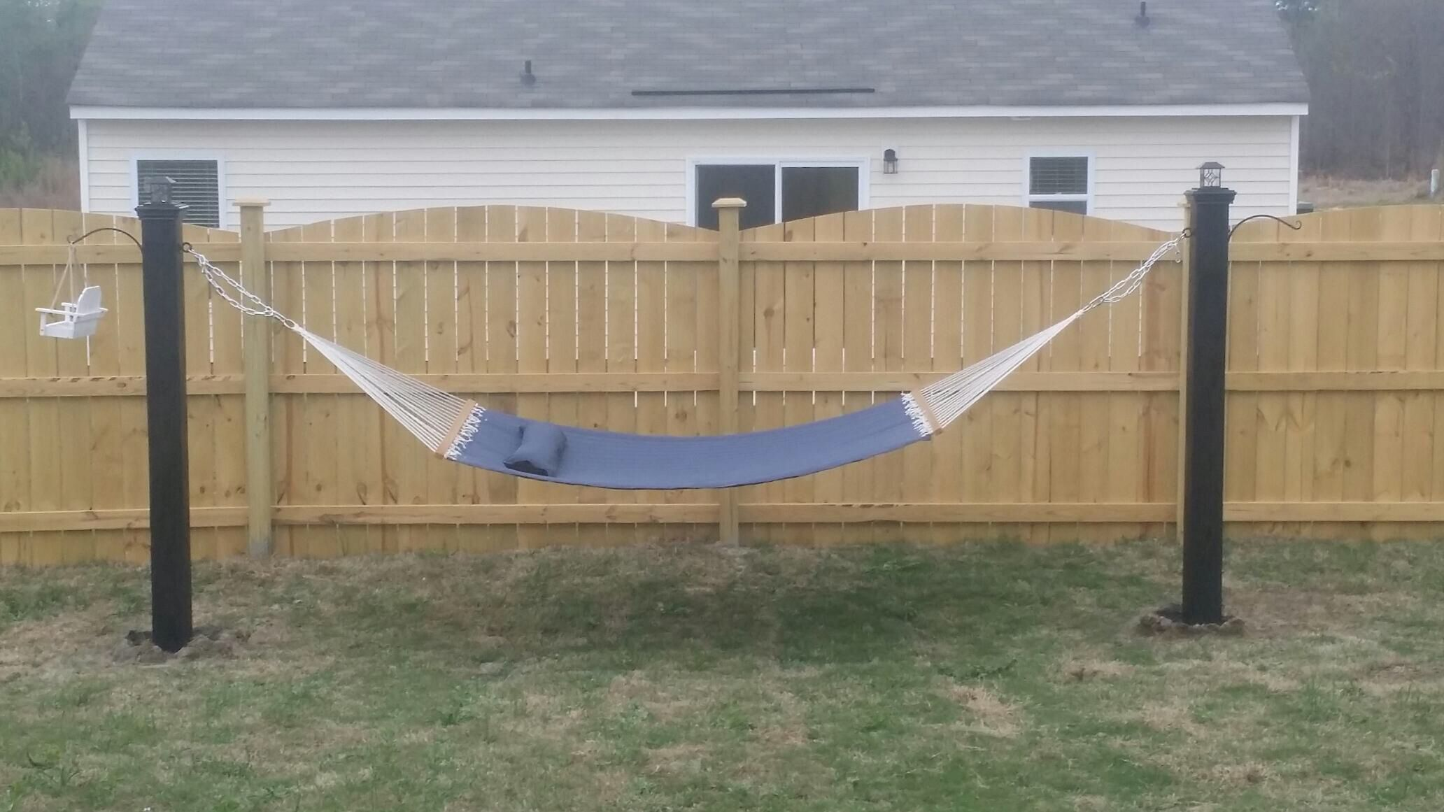 Pergola and other hammock diy pinterest here for How to build a stand