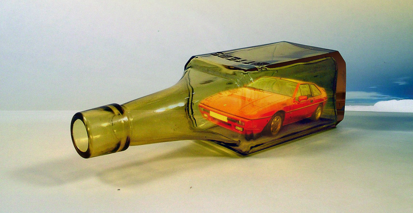 how to build a bottle rocket car
