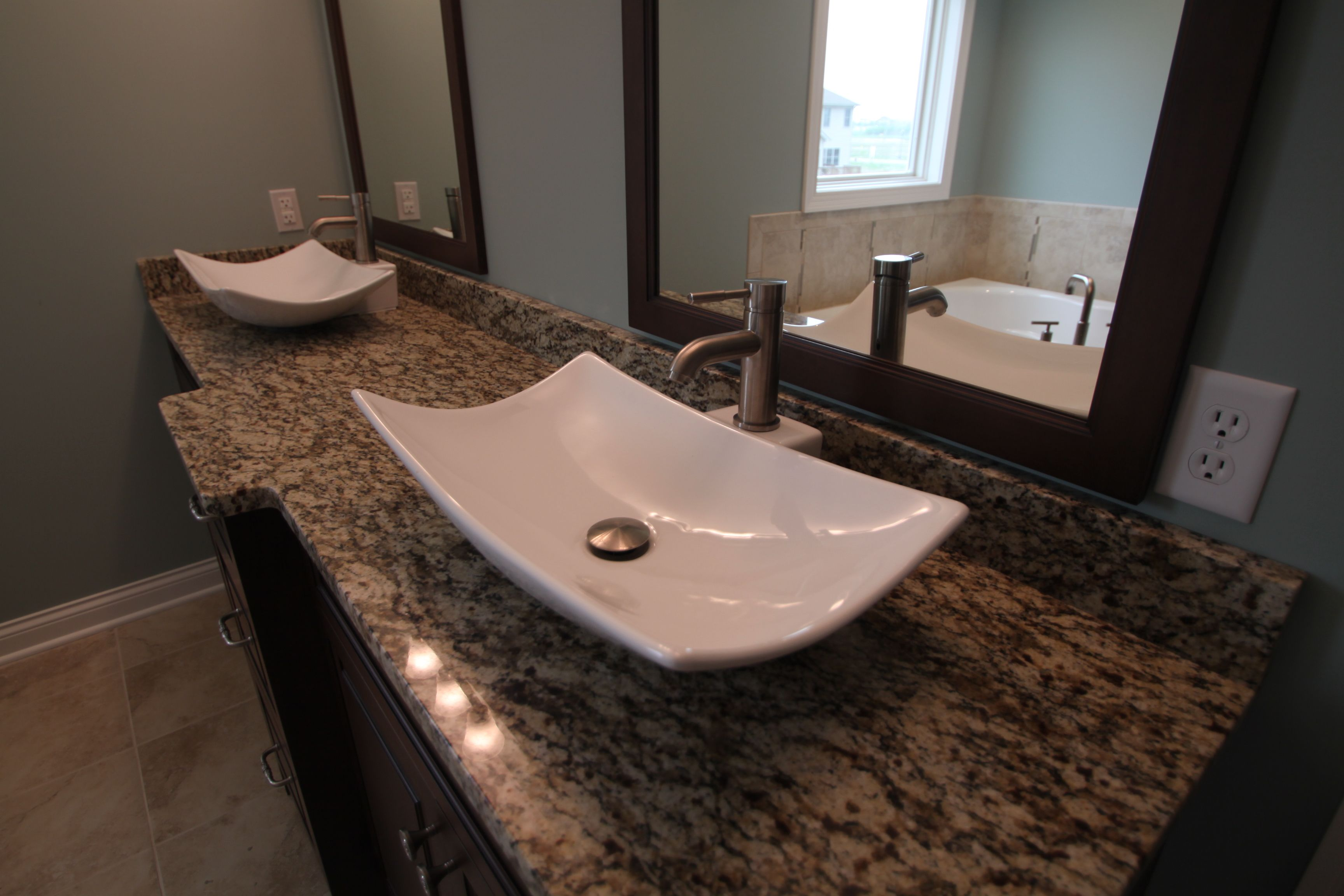 Cool master bath vanities master bath pinterest for Cool master bathrooms