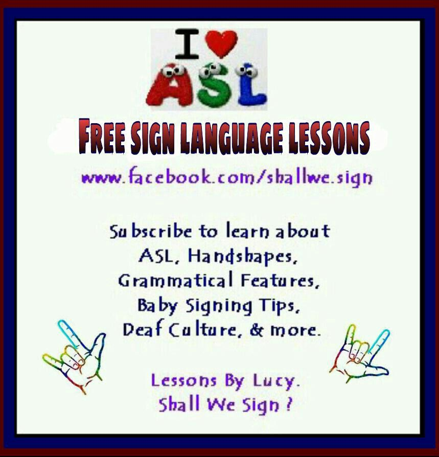 Basic Sign Language Words Printable Language Lessons Related Keywords ...