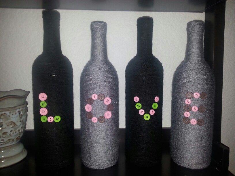 Diy wine bottle craft wine bottle crafts pinterest for Diy wine bottle crafts pinterest