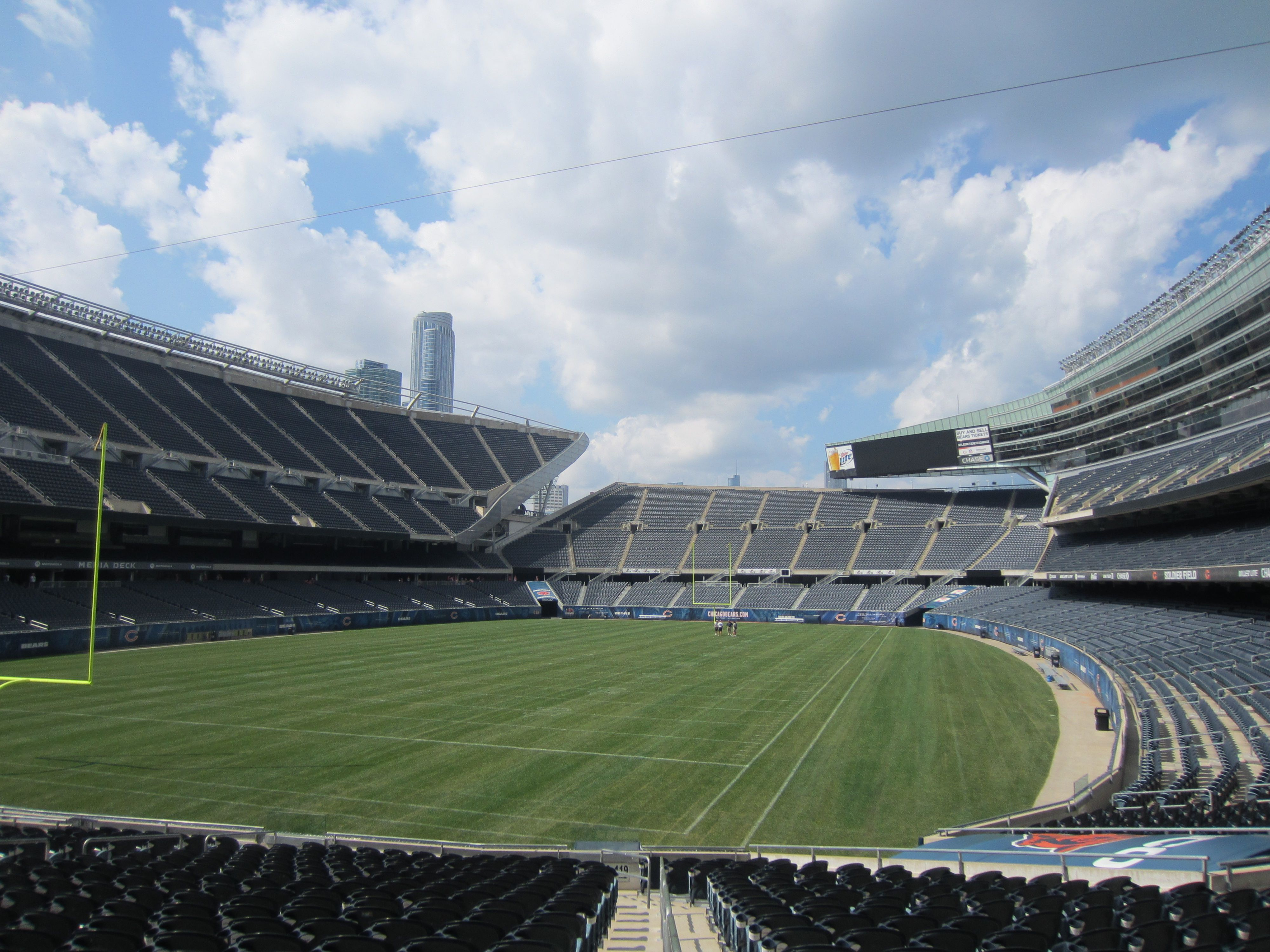 soldier field chicago il oh the places i 39 ve seen. Black Bedroom Furniture Sets. Home Design Ideas