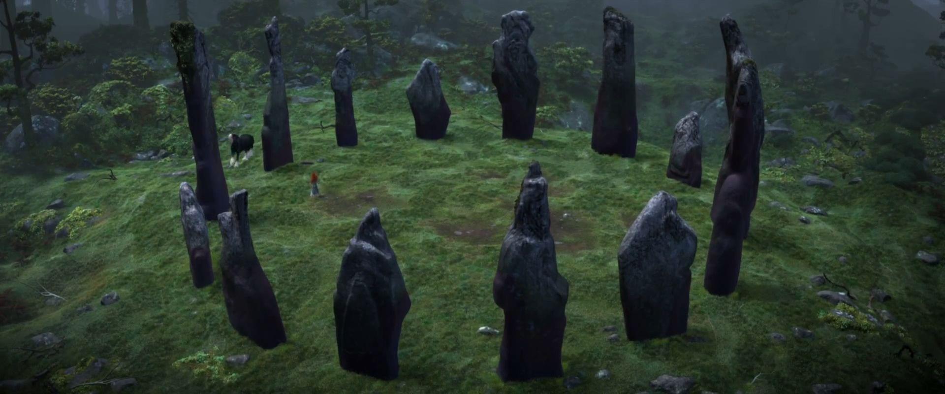 Disney Brave Standing Stones