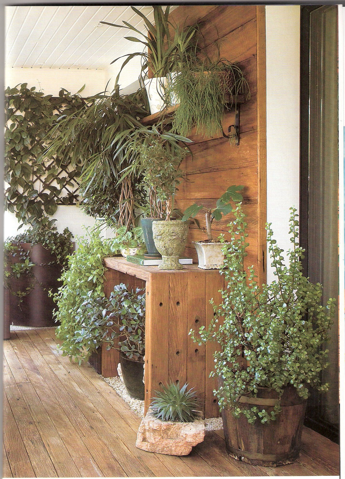 Hiding air conditioner Make this try that Pinterest #91603A