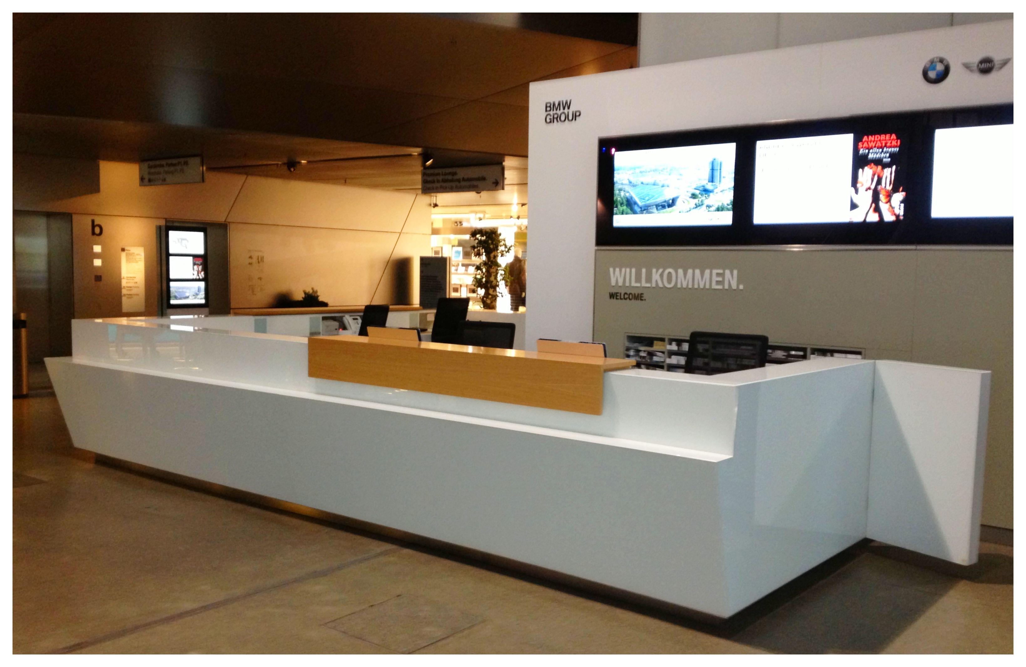 Modern reception desks the image kid for Reception furniture