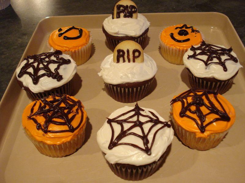Halloween Cupcakes Ideas For Kids Cupcakes Pinterest