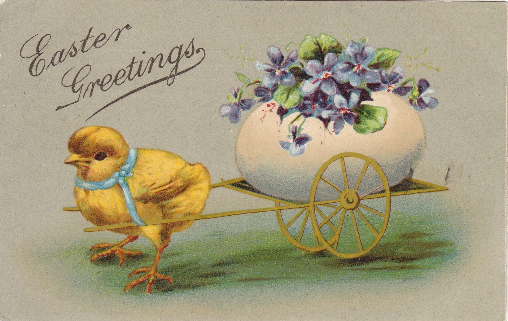 Easter | VINTAGE EASTER CARDS | Pinterest: pinterest.com/pin/546624473494221694