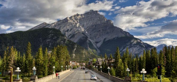 Ciudad de Banff, Parque Nacional de Banff, AB