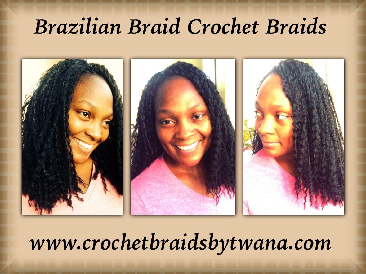 Crochet Braids By Twana : Brazilian Braid by Freetress Crochet Braids By Twana Pinterest