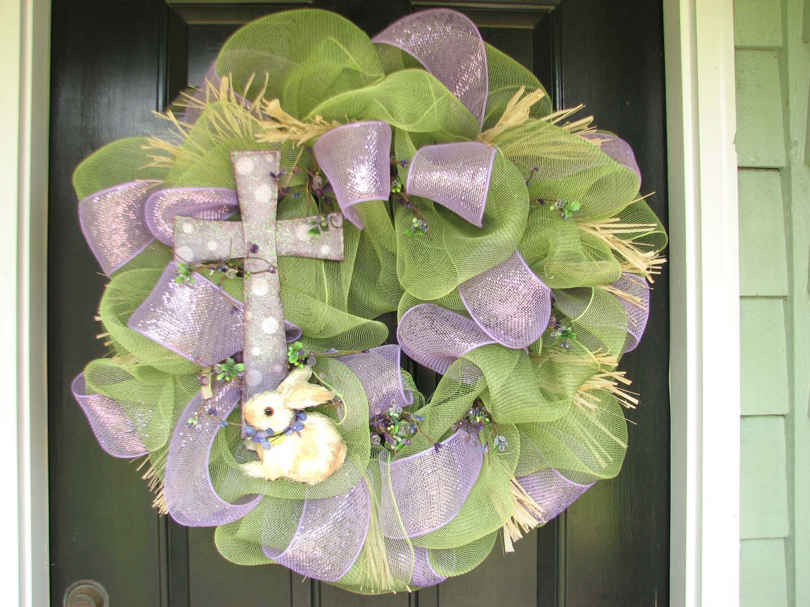 Easter Wreath Holiday Ideas Pinterest