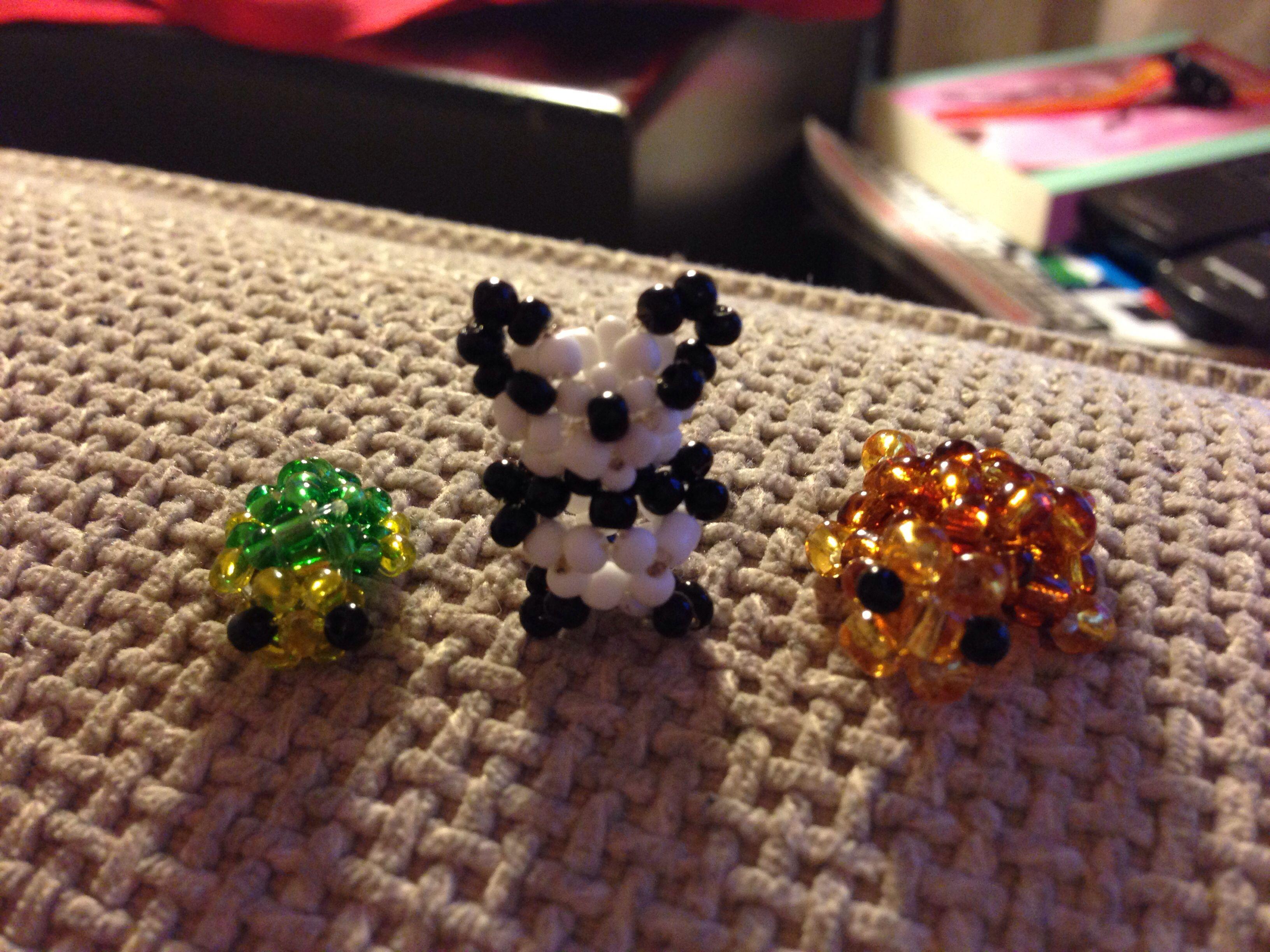 pony bead animal patterns instructions