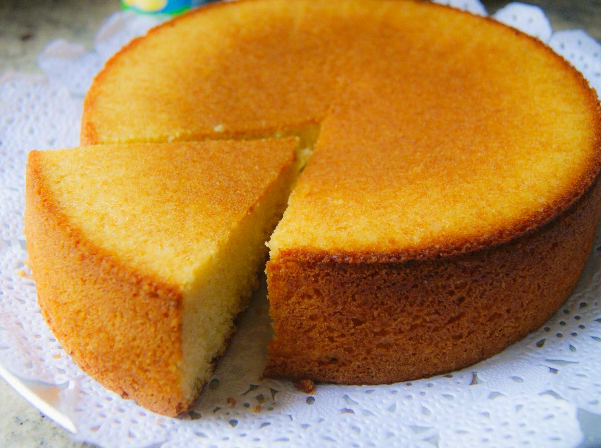 Torta Basica De La Abuela Comida Torta De Yogur