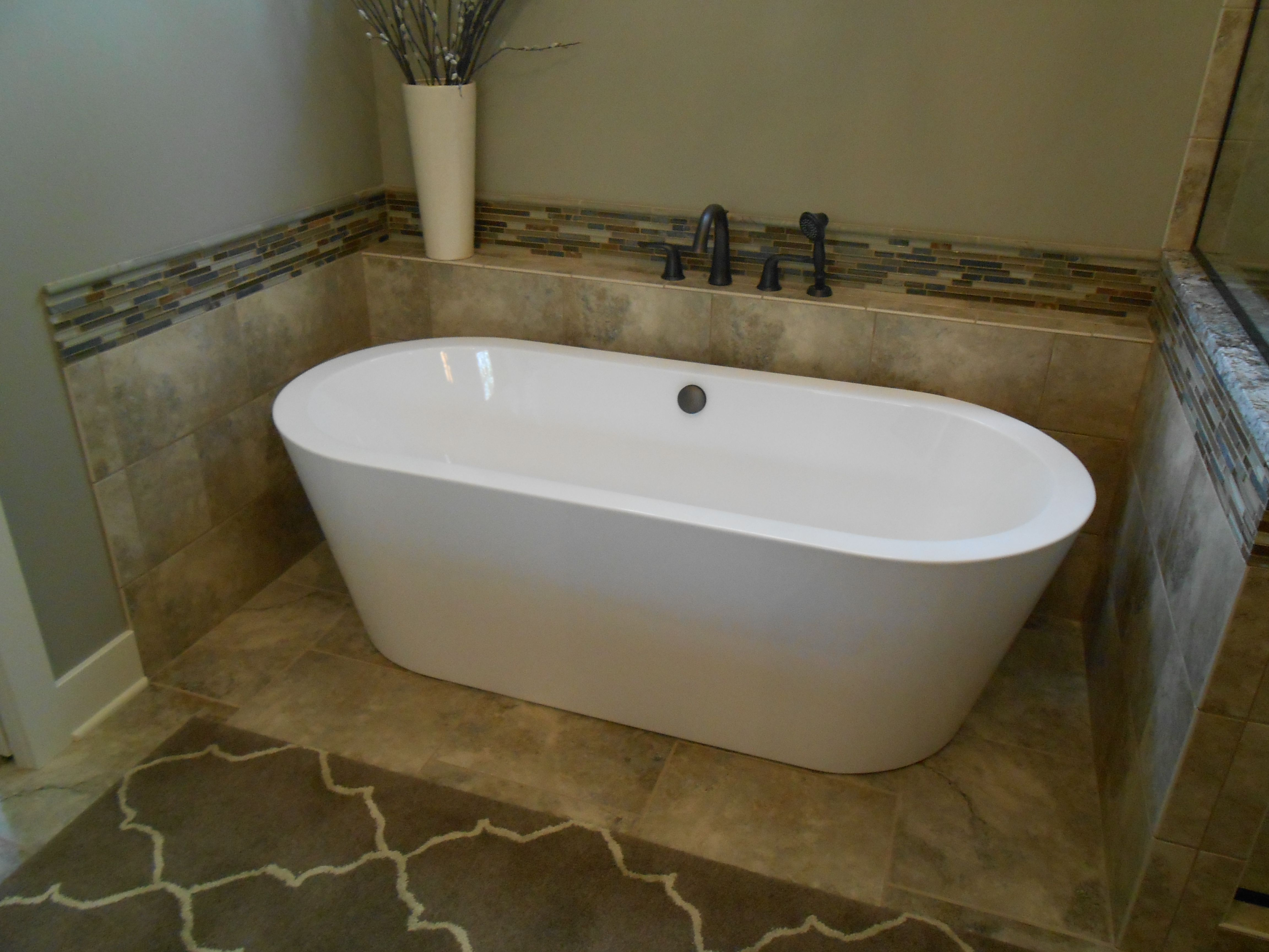 free standing tub surround for the home pinterest
