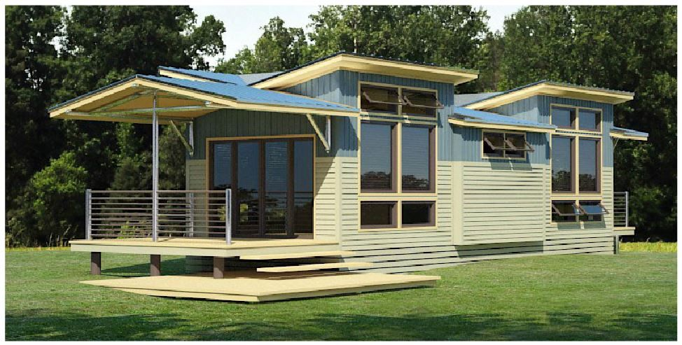 Midwest eco cottage small home designs pinterest Small eco home plans
