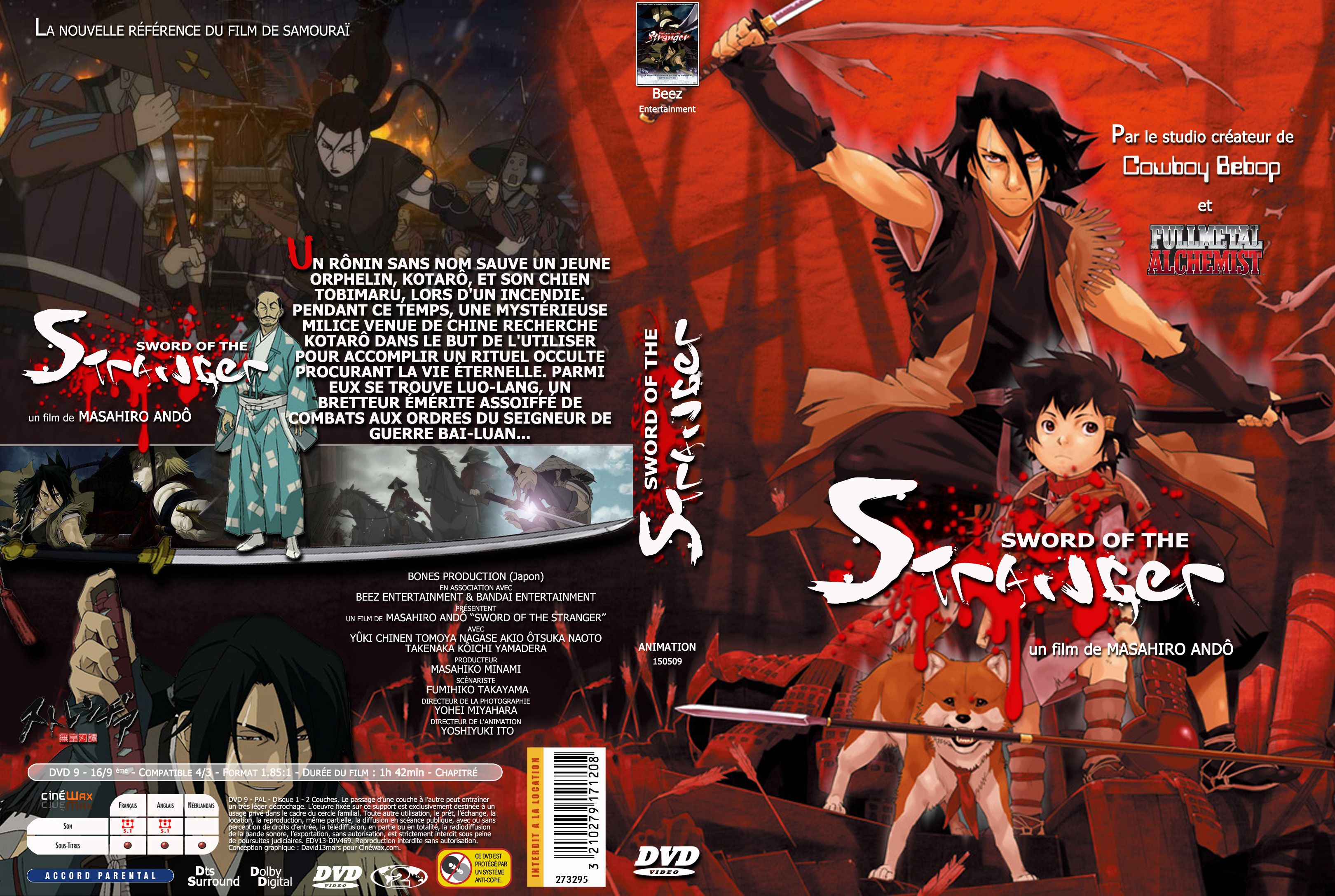 Image result for Sword of the Stranger 2007