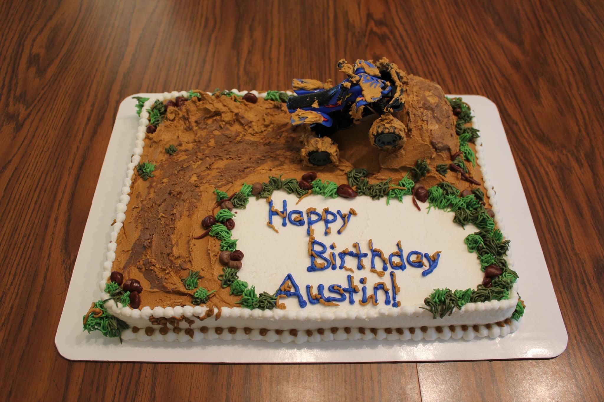 four wheeler cakes ideas