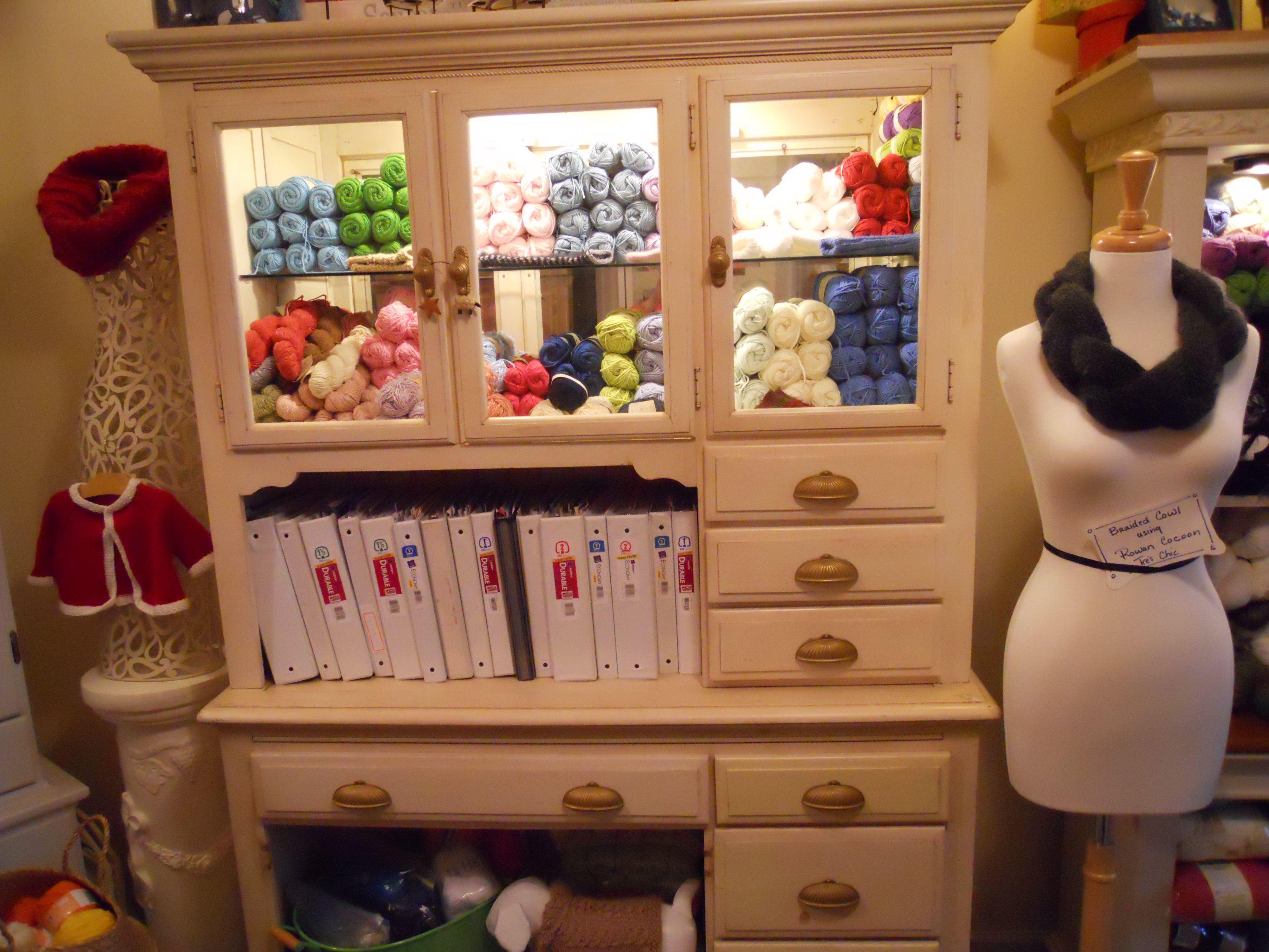 Knitting Supplies Storage Ideas : Knitting room storage craft ideas pinterest