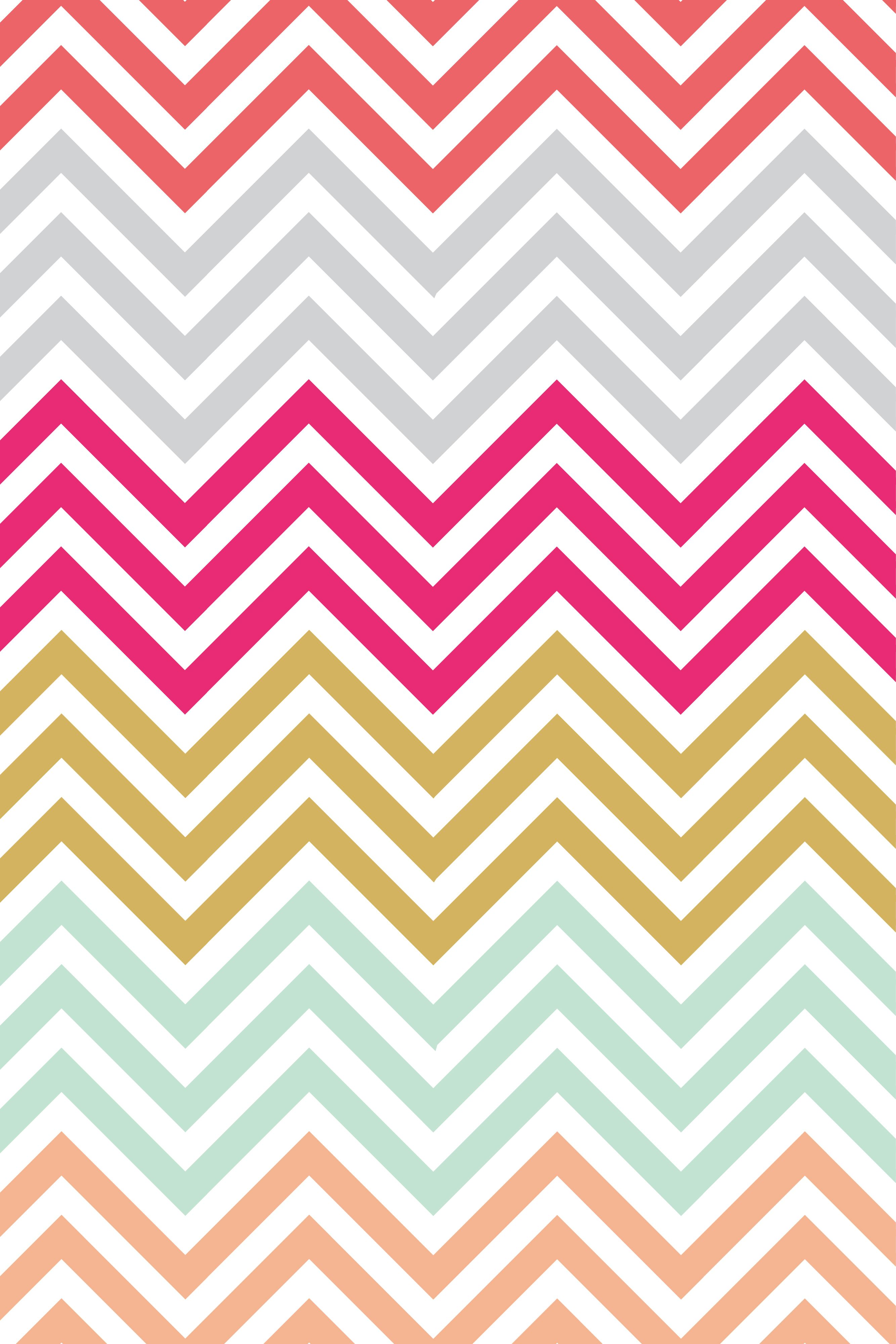 colorful chevron iphone wallpaper iphone wallpaper