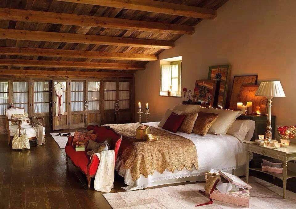 Warm Cozy Bedrooms Pinterest