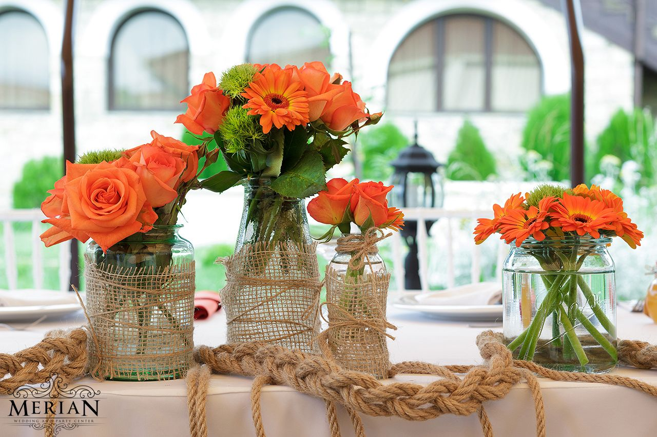 Rustic Arrangements | Wedding Table Centerpieces | Pinterest