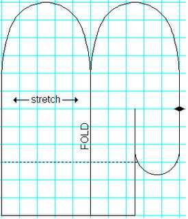 Mitten Sewing Pattern Pitter patter: fleece mittens