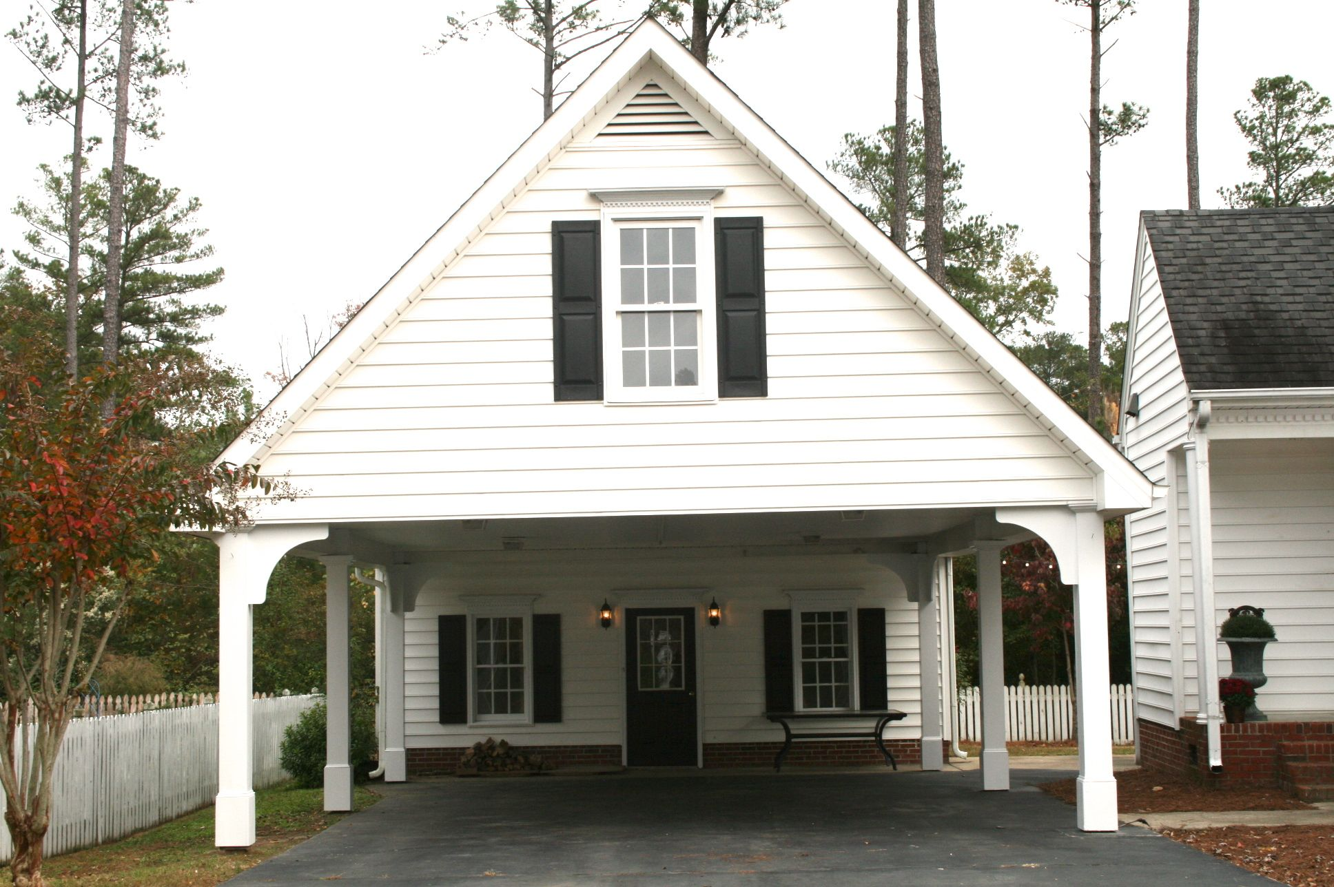 Share for Detached garage with carport