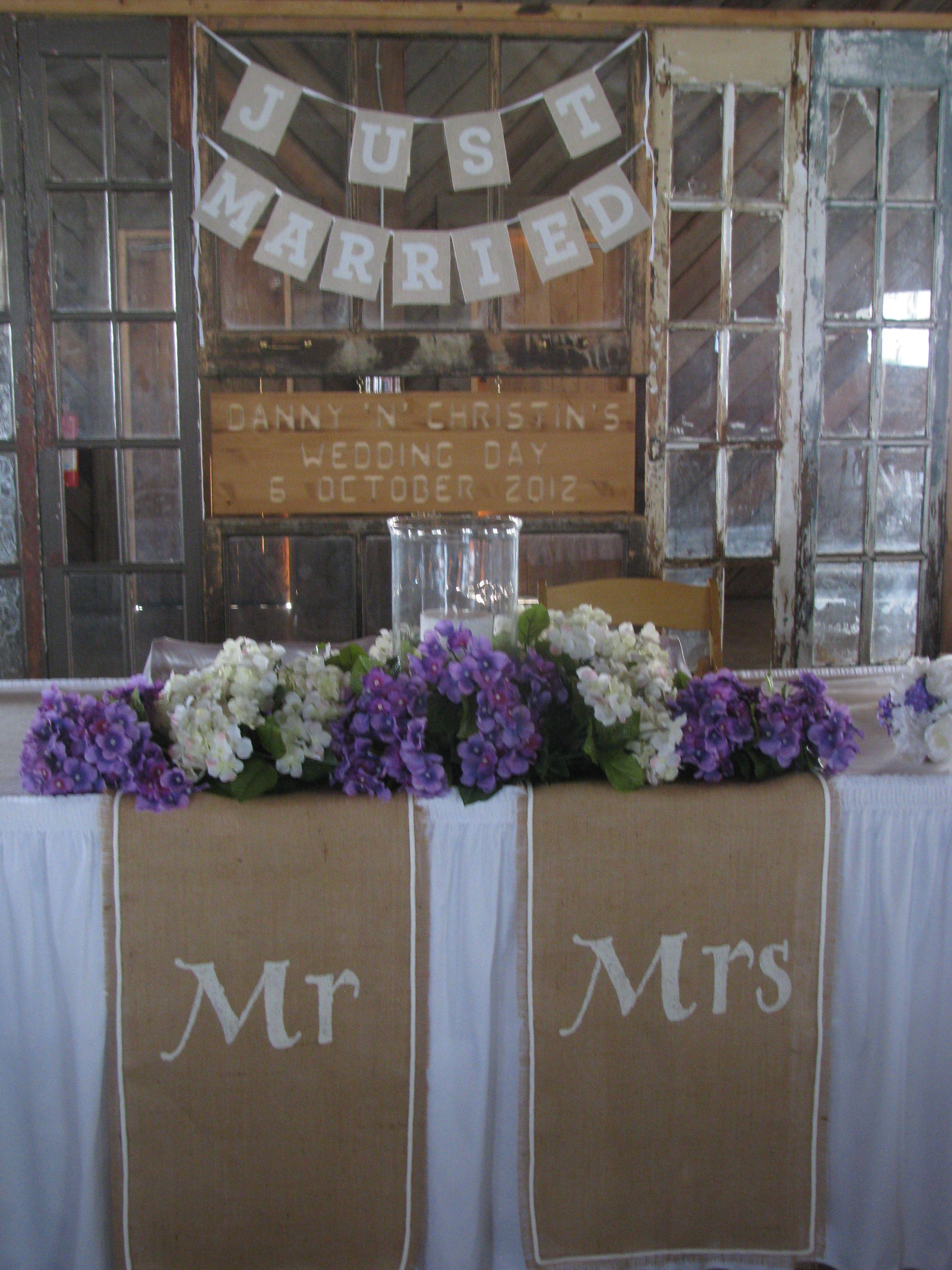 Bride Groom Wedding Table Ideas : Bride and groom table home wedding ideas